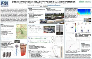 Deep Stimulation at Newberry Volcano EGS Demonstration poster (2014).