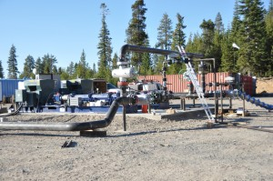 AltaRock utilizes high-pressure multi-stage pumps engineered specifically for stimulation to induce hydroshearing and increase permeability in both traditional hydrothermal and EGS wells.